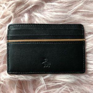 Original Penguin Accessories - NWT Original Penguin Leather Wallet